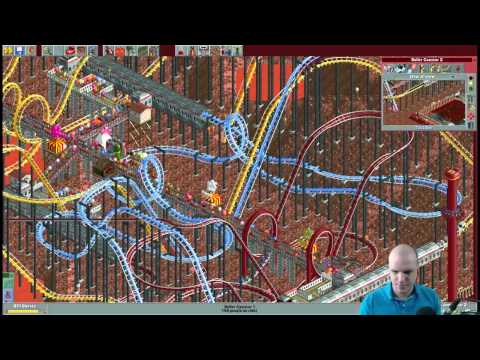 Rollercoaster Tycoon Scenario #31 - Crazy Craters