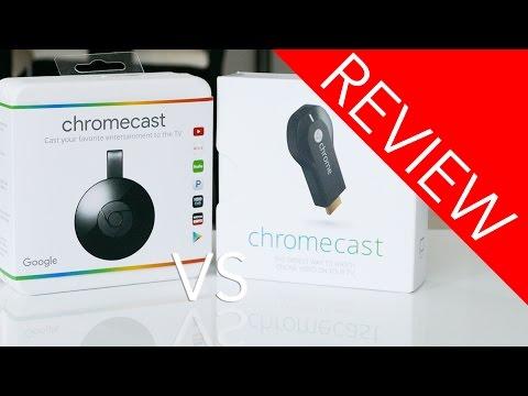 Chromecast 1 vs 2!!