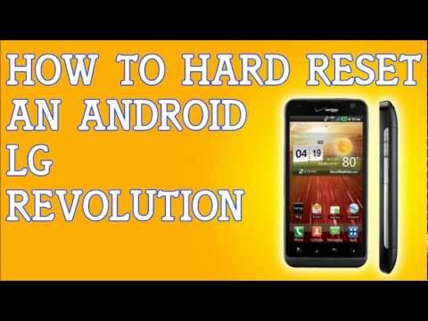 How To Hard Reset A LG Revolution For Verizon Forgot Password