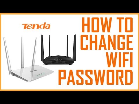 How To Change Wifi Password In Tenda Router like Tenda Router N150 (Tutorial Tenda Wireless Routers)