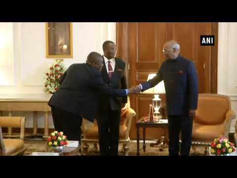 Watch Vice President of Zimbabwe calls on President Kovind