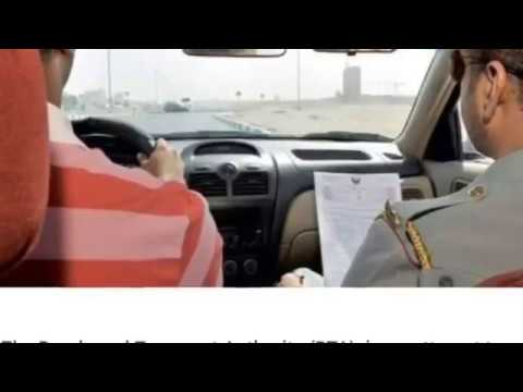 No driving licence for expats in UAE - New rule (limited category)2018 on the table