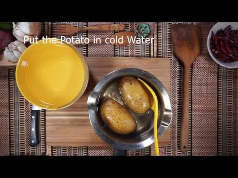 How to boil and peel Potatoes