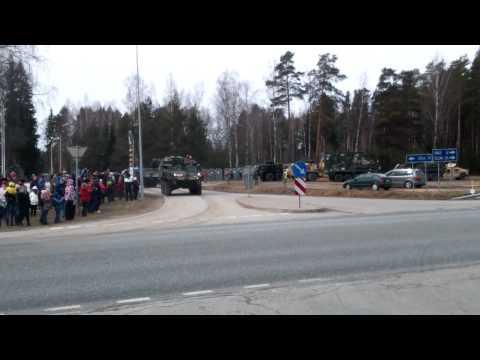 USA military in Latvia