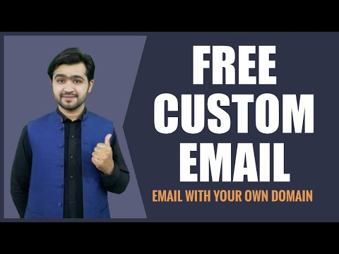 How to setup Custom Email Address for Domain (2 Best Techniques)