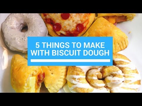 5 Things To Make With Biscuit Dough
