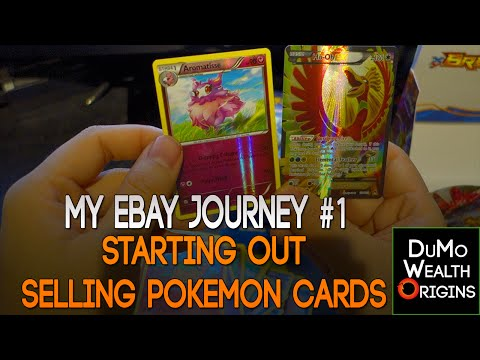 My eBay Journey  Ep 1: Starting out selling Pokemon Cards