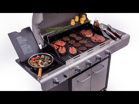 Char-Broil Advantage Deluxe 4-Burner Gas Grill - Lowe's Exclusive