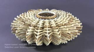 Hybrid Basketry interweaving digital practice within contemporary craft