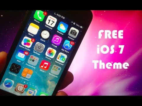 iOS 7 Theme - Best FREE Winterboard Themes