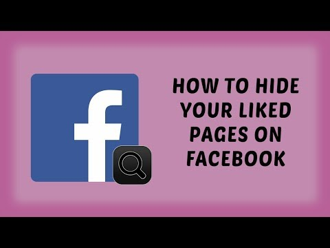How To Hide Your Liked Pages On Facebook | Facebook Tutorials In Hindi