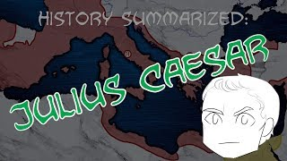 History Summarized: Julius Caesar and the Fall of the Republic
