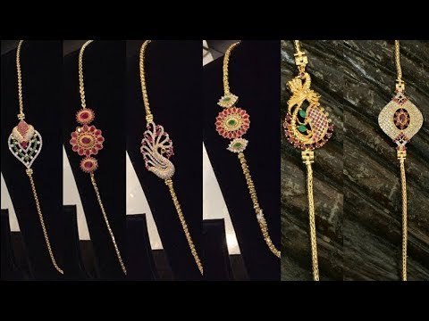 Latest New Designs 1gram Gold Thali Chain With Side Mugappu Designs With Phone Number - She Fashion