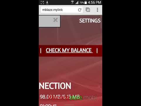 MTS MBlaze: Check Balance in Android