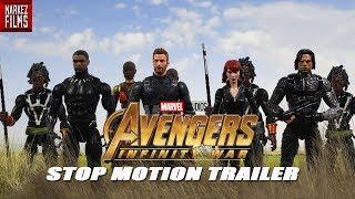 Avengers Infinity War Trailer 2 Stop Motion Re-creation