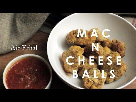 Air Fried Mac N Cheese Balls
