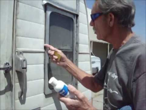 Trailer Tidbits - Removing Silicone Calking