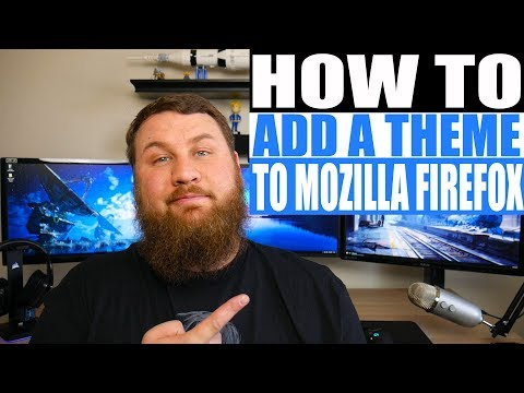 How to add a theme to Mozilla Firefox