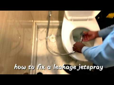 How to Fix water leakage in jetspray