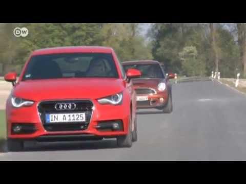 Audi A1 vs. Mini Cooper S | Drive it!