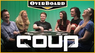 Let's Play COUP feat. Brennan Lee Mulligan from CollegeHumor | Overboard, Episode 12