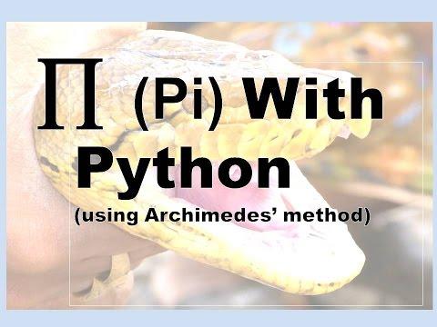 Calculate Pi With Python