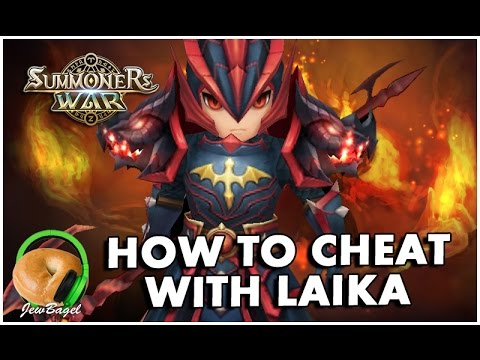 SUMMONERS WAR : How to Cheat with Laika the Fire Dragon Knight