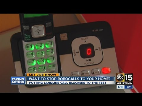 Want to stop robocalls to your home?