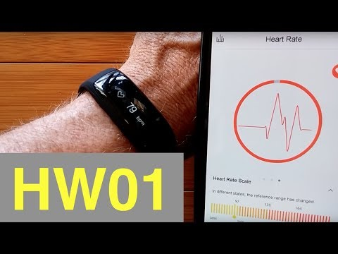 Lenovo HW01 Smart Sport Wristband: Unboxing and Review