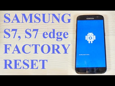 Samsung Galaxy S7, S7 edge - How to reset to factory settings