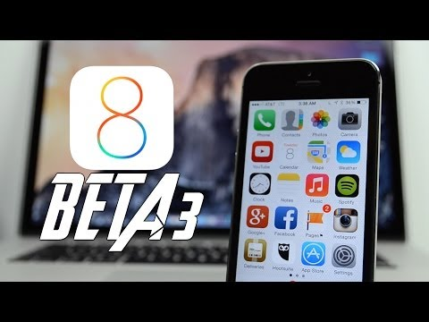 iOS 8: What's New In Beta 3