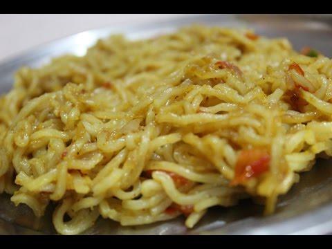 Maggi Masala Noodles - Spicy Maggi Masala Noodles - Masala Maggi Recipe