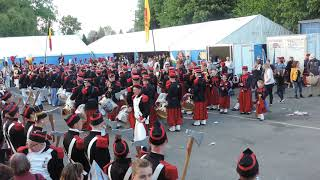 Saint Médard 2019 - Parade des Tambour-Majors