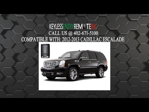How To Replace Cadillac Escalade Key Fob Battery 2012 2013