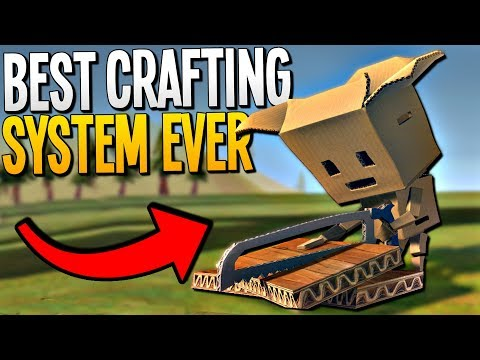 WE CAN MAKE ANYTHING! The Most Unique Crafting System EVER - CardLife Gameplay - Cardlife Pre-Alpha