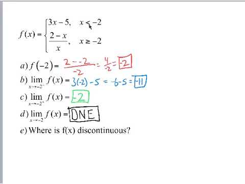 Piecewise Discontinuities