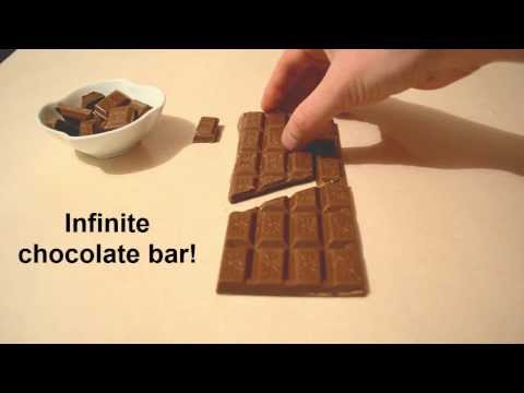 Infinite chocolate bar trick - Chocolate Magic
