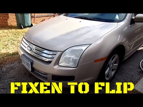 $600 2006 Ford Fusion before  Walk Around, all products in description