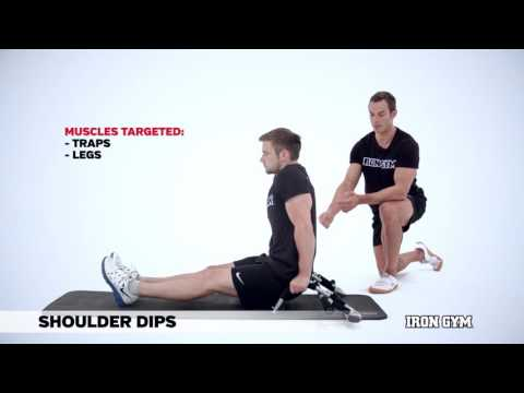Shoulder Dips - IRON GYM® Training Academy