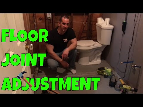 How To Smoothen Cement Board Floor Joint High Spot