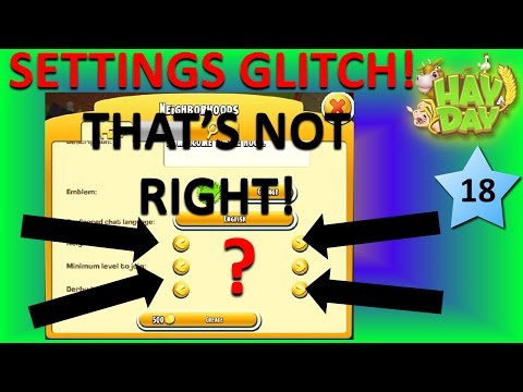 HAY DAY - GLITCH! YOU WON'T BELIEVE WHAT HAPPENS TO THIS! JUDGE FOR YOURSELF! A HOOD GLITCH 2017!