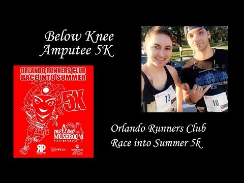 BK Amputee 5K- Orlando Runners Club Race into Summer