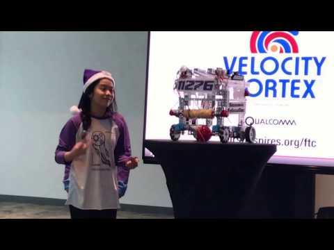 Women's Robotic Team Velocity Vortex Sponsored by Panasonic Automotive