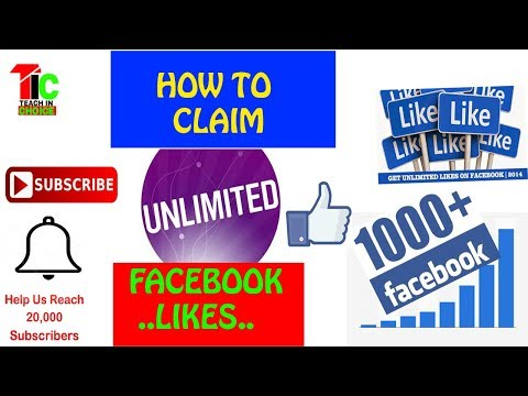 How To Claim Free Unlimited Facebook Likes With 2018 Trick In Urdu Hindi