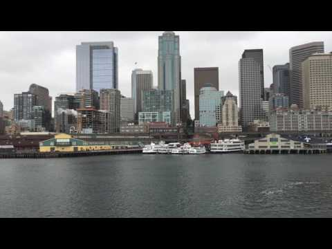Leaving Seattle on a Ferry
