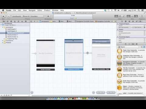Como criar Storyboards no Xcode