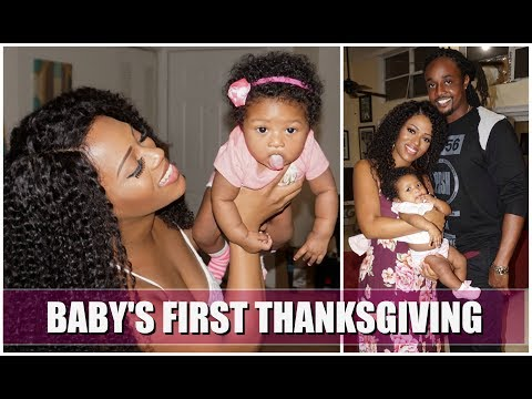 MY BABY'S FIRST THANKSGIVING   VLOG