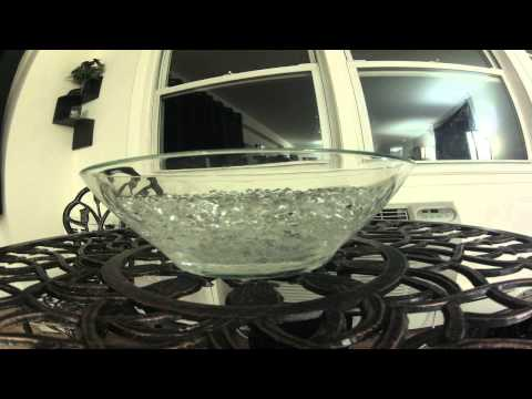 Hydration Beads Absorb Bowl of Water