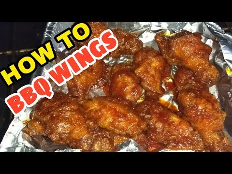 HOW TO MAKE BBQ WINGS
