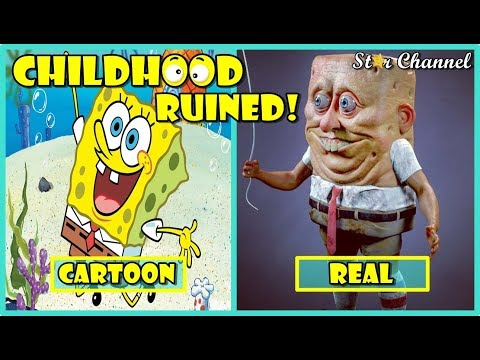 Cartoon Characters In Real Life 🌟 Funny Pictures